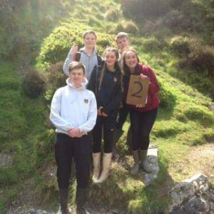 L5 Geographers at Carding Mill Valley